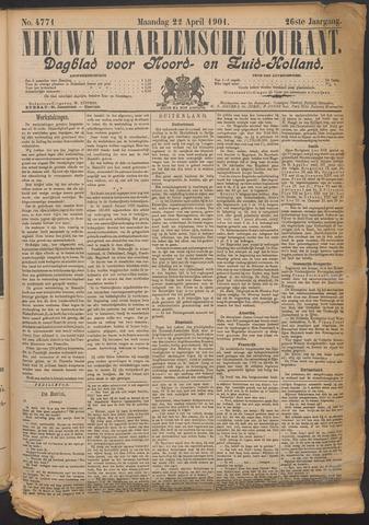 Nieuwe Haarlemsche Courant 1901-04-22