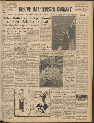 Nieuwe Haarlemsche Courant 1954-09-01