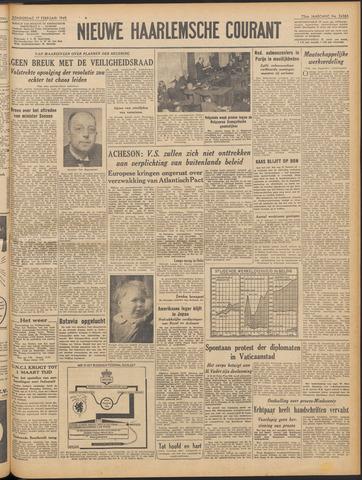 Nieuwe Haarlemsche Courant 1949-02-17