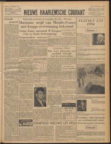 Nieuwe Haarlemsche Courant 1954-12-31