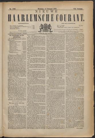 Nieuwe Haarlemsche Courant 1892-02-17