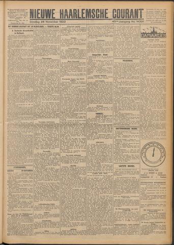 Nieuwe Haarlemsche Courant 1922-11-28