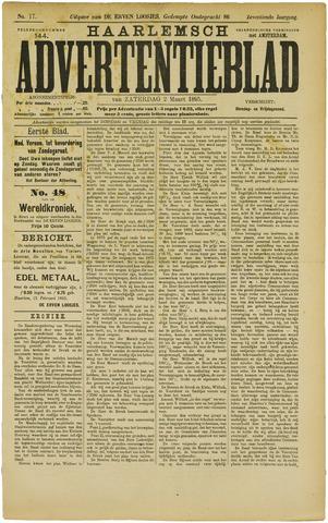 Haarlemsch Advertentieblad 1895-03-02