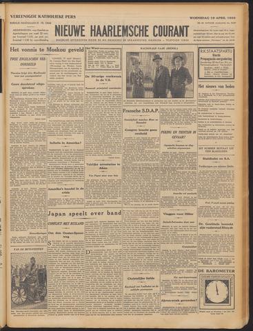 Nieuwe Haarlemsche Courant 1933-04-19