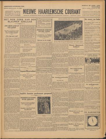 Nieuwe Haarlemsche Courant 1934-04-29
