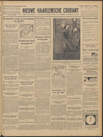 Nieuwe Haarlemsche Courant 1940-02-09