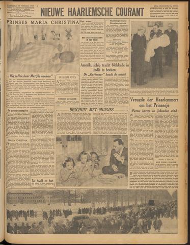 Nieuwe Haarlemsche Courant 1947-02-19