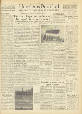 Haarlem's Dagblad 1954-12-22