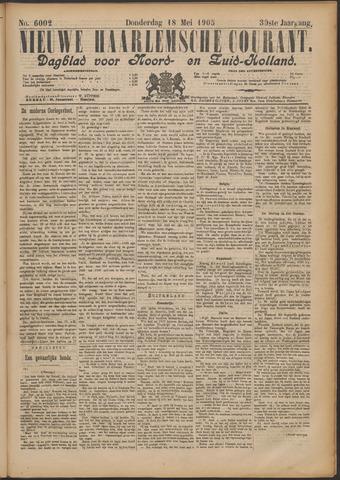 Nieuwe Haarlemsche Courant 1905-05-18