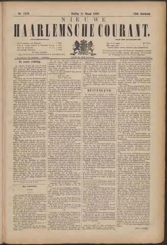 Nieuwe Haarlemsche Courant 1888-03-11