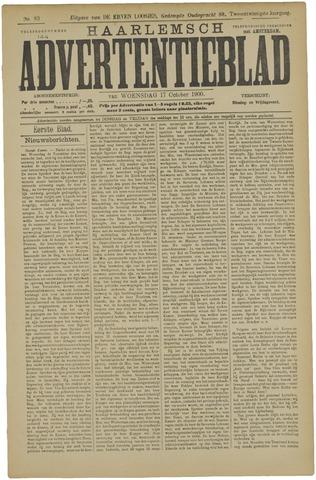 Haarlemsch Advertentieblad 1900-10-17