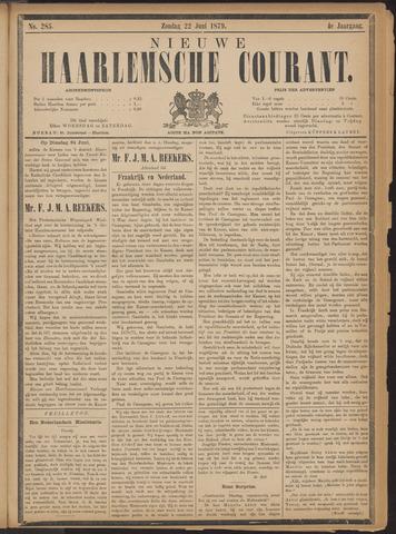 Nieuwe Haarlemsche Courant 1879-06-22