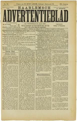 Haarlemsch Advertentieblad 1889-04-24