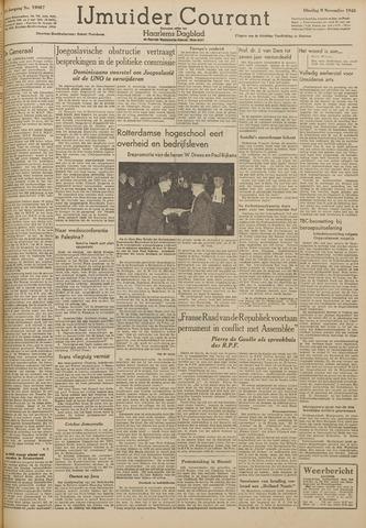 IJmuider Courant 1948-11-09