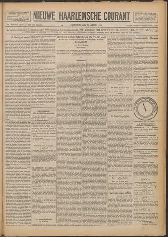 Nieuwe Haarlemsche Courant 1928-04-12