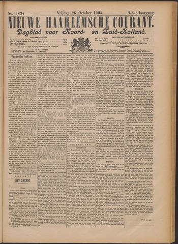 Nieuwe Haarlemsche Courant 1904-10-28