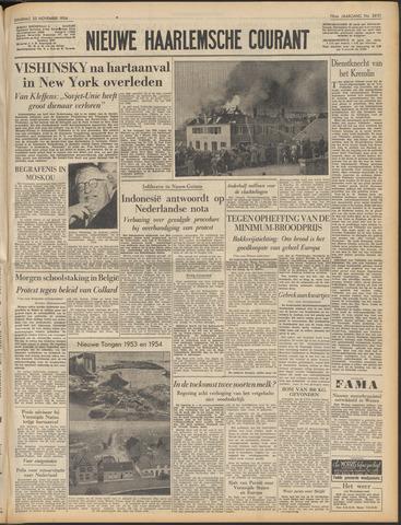 Nieuwe Haarlemsche Courant 1954-11-23
