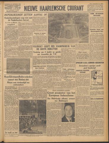 Nieuwe Haarlemsche Courant 1948-09-23