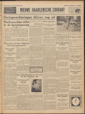 Nieuwe Haarlemsche Courant 1939-09-02