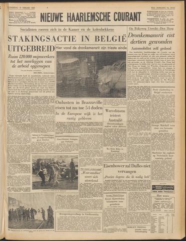 Nieuwe Haarlemsche Courant 1959-02-19