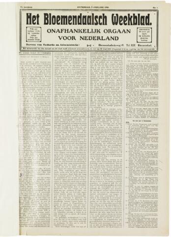 Het Bloemendaalsch Weekblad 1912