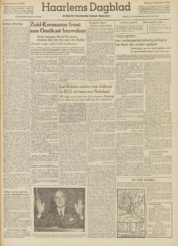 Haarlem's Dagblad 1950-09-05