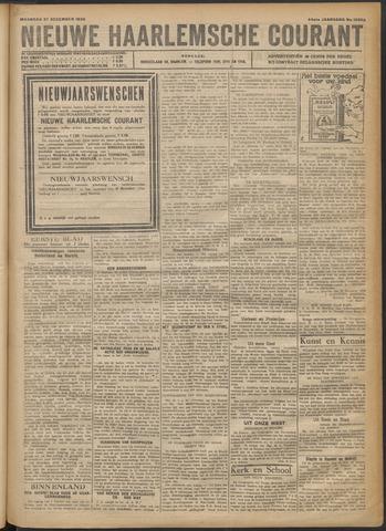 Nieuwe Haarlemsche Courant 1920-12-27