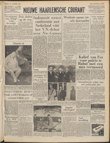 Nieuwe Haarlemsche Courant 1955-11-21