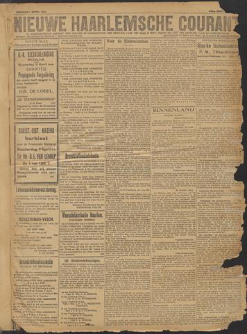 Nieuwe Haarlemsche Courant 1919-04-01