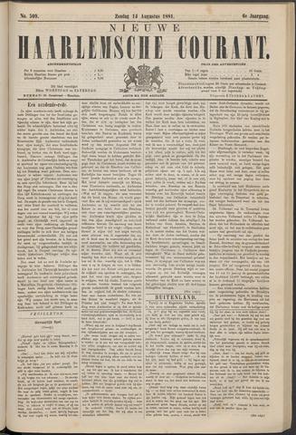 Nieuwe Haarlemsche Courant 1881-08-14