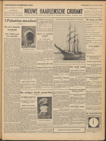 Nieuwe Haarlemsche Courant 1932-07-27