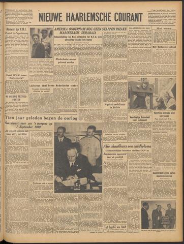 Nieuwe Haarlemsche Courant 1949-08-31
