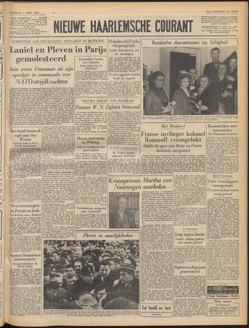 Nieuwe Haarlemsche Courant 1954-04-05