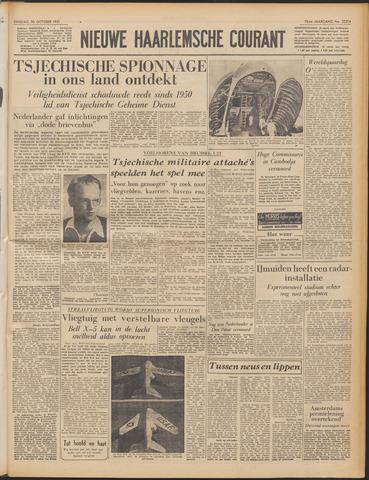 Nieuwe Haarlemsche Courant 1951-10-30