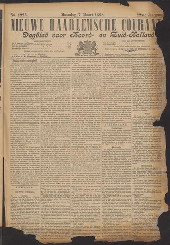 Nieuwe Haarlemsche Courant 1898-03-07