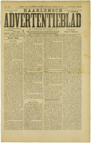 Haarlemsch Advertentieblad 1895-11-27