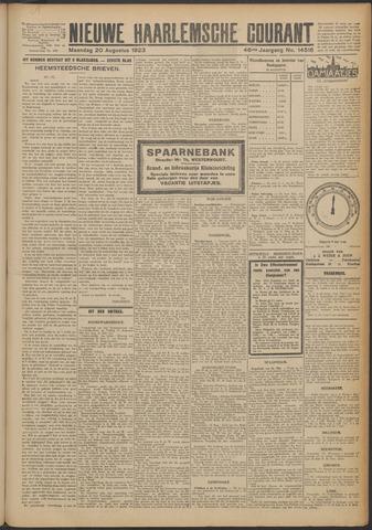 Nieuwe Haarlemsche Courant 1923-08-20