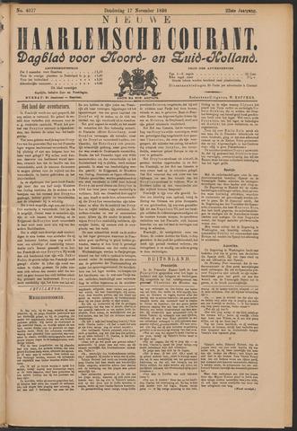 Nieuwe Haarlemsche Courant 1898-11-17