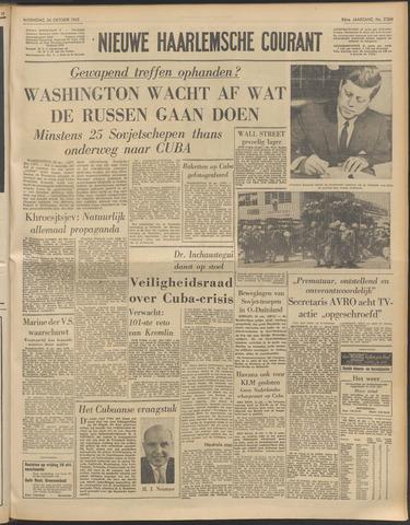 Nieuwe Haarlemsche Courant 1962-10-24