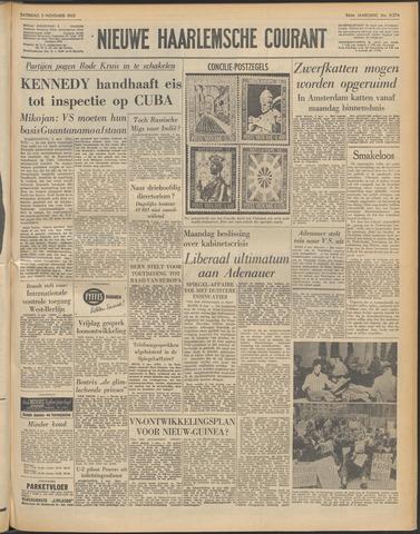 Nieuwe Haarlemsche Courant 1962-11-03
