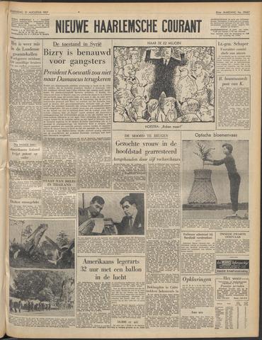 Nieuwe Haarlemsche Courant 1957-08-21