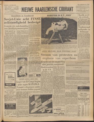 Nieuwe Haarlemsche Courant 1961-10-31