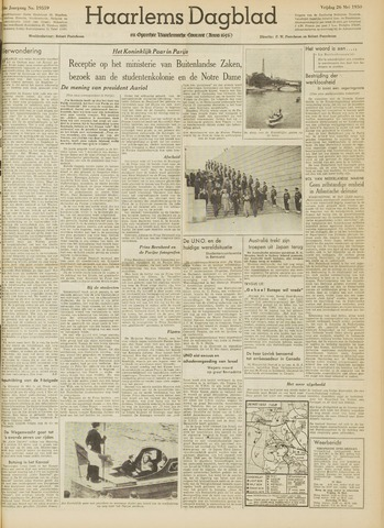 Haarlem's Dagblad 1950-05-26