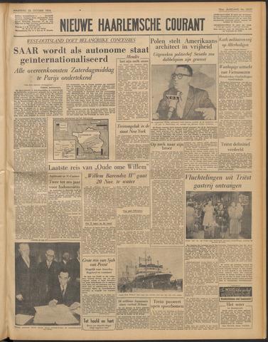 Nieuwe Haarlemsche Courant 1954-10-25