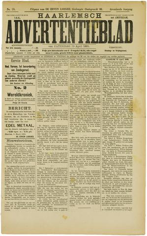 Haarlemsch Advertentieblad 1895-04-13
