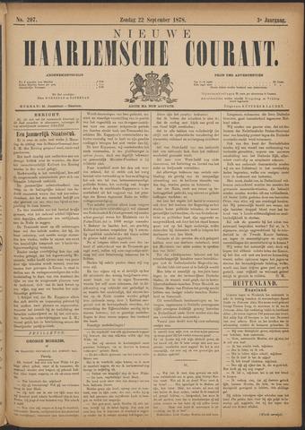 Nieuwe Haarlemsche Courant 1878-09-22