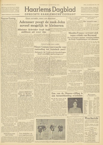 Haarlem's Dagblad 1954-08-07