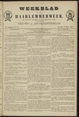 Weekblad van Haarlemmermeer 1885-03-28