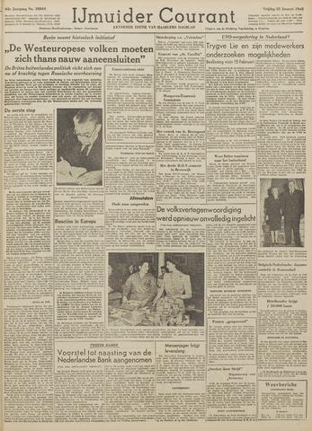IJmuider Courant 1948-01-23