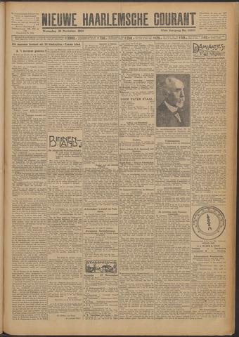 Nieuwe Haarlemsche Courant 1924-11-26